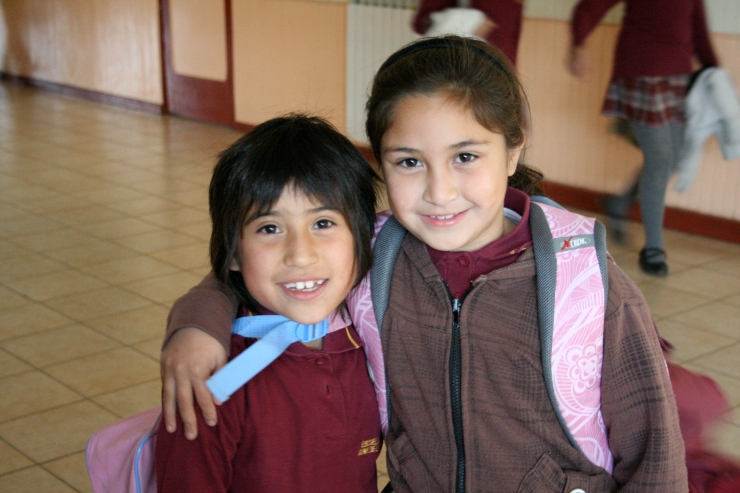 April 4 2011, Two of my students from Chile.