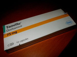 Tamiflu, brand name. Less than $25.