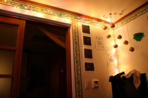 Beautiful LEDs to make an apartment a home.