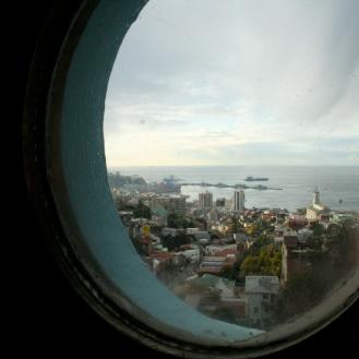 Valparaiso seen from La Sebastiana 2011