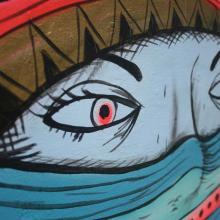Mural, Fort Cochin 2013