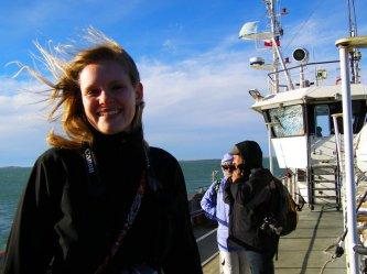Crossing the Strait of Magellan