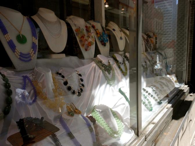 Jewelry in Chinatown!