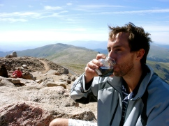 Russ' summit wine.