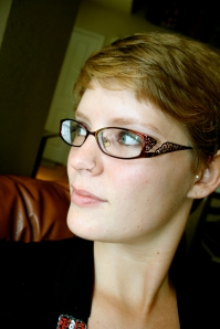 I love to emphasize my eyes with glasses. They look classy and academic, too.