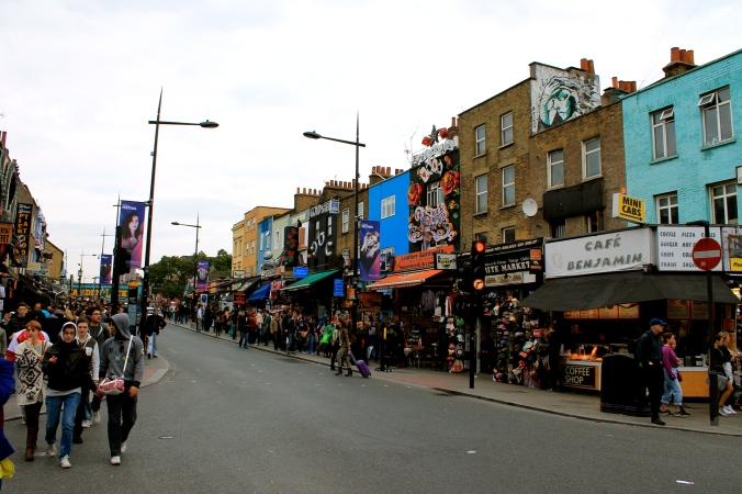 The Saturday Rush, Camden Town
