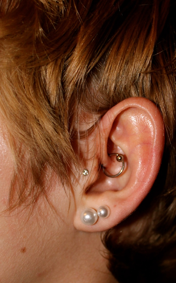 It's called a Daith!