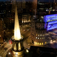 All Souls and the BBC Headquarters