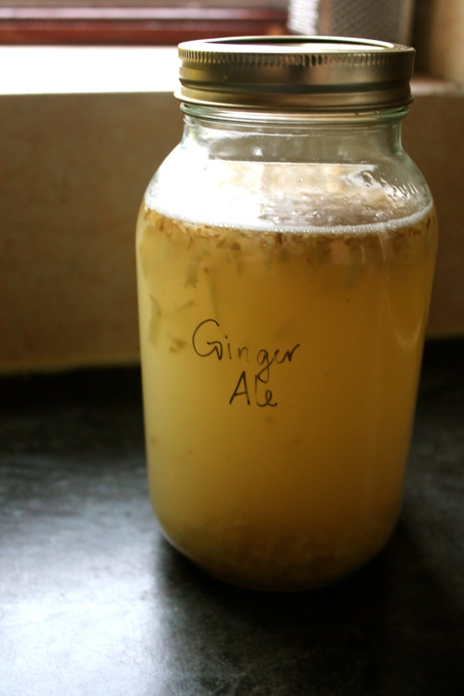 Ginger Ale Jar