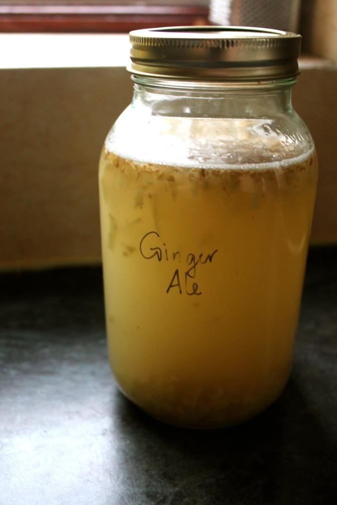 Ginger Ale Jar