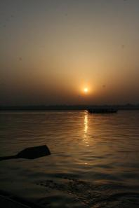 The Sun on the Ganga