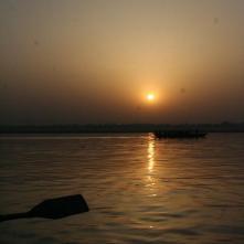 The Sun on the Ganga
