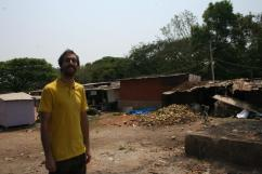 Russell and the trash (Mysore)
