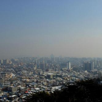 View of Suwon!