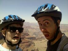 Biking next to the Abyss!