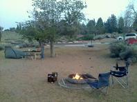 Lake Powell Campsite