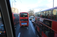 From the top of a bus!