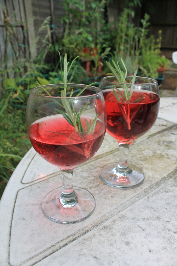 Herby aperitif cocktail!