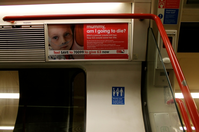 Horrible ads like this one assail the sense on the Tube daily