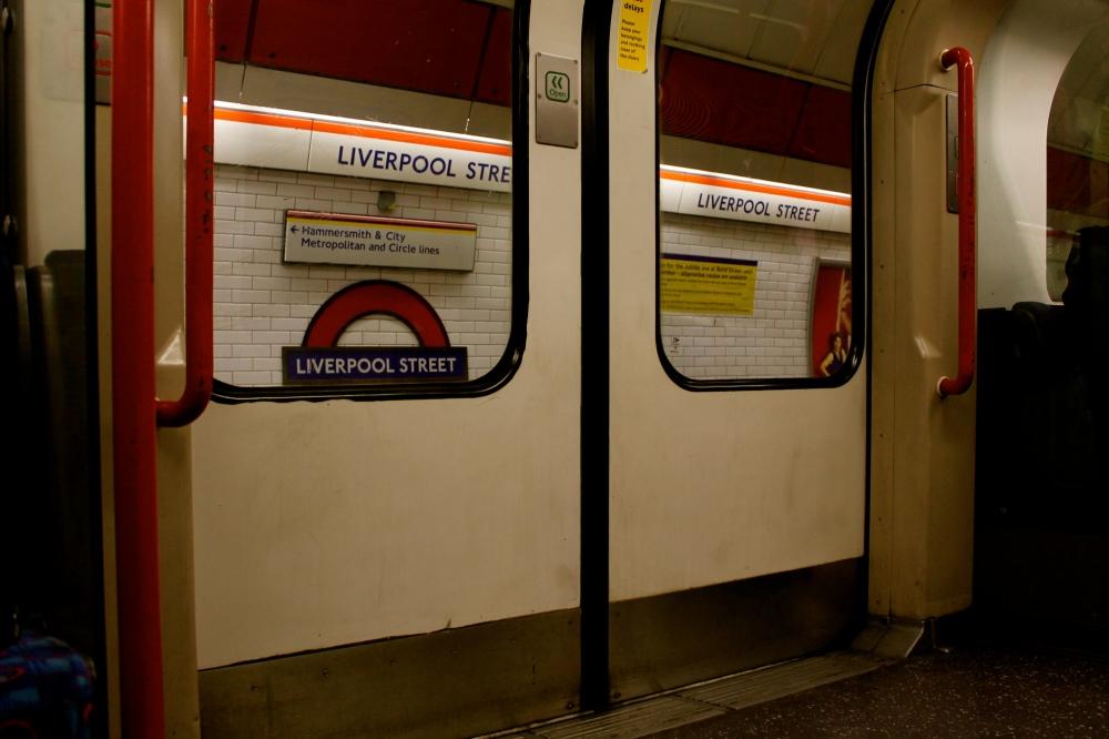 Liverpool Street Station. My ever-present friend.