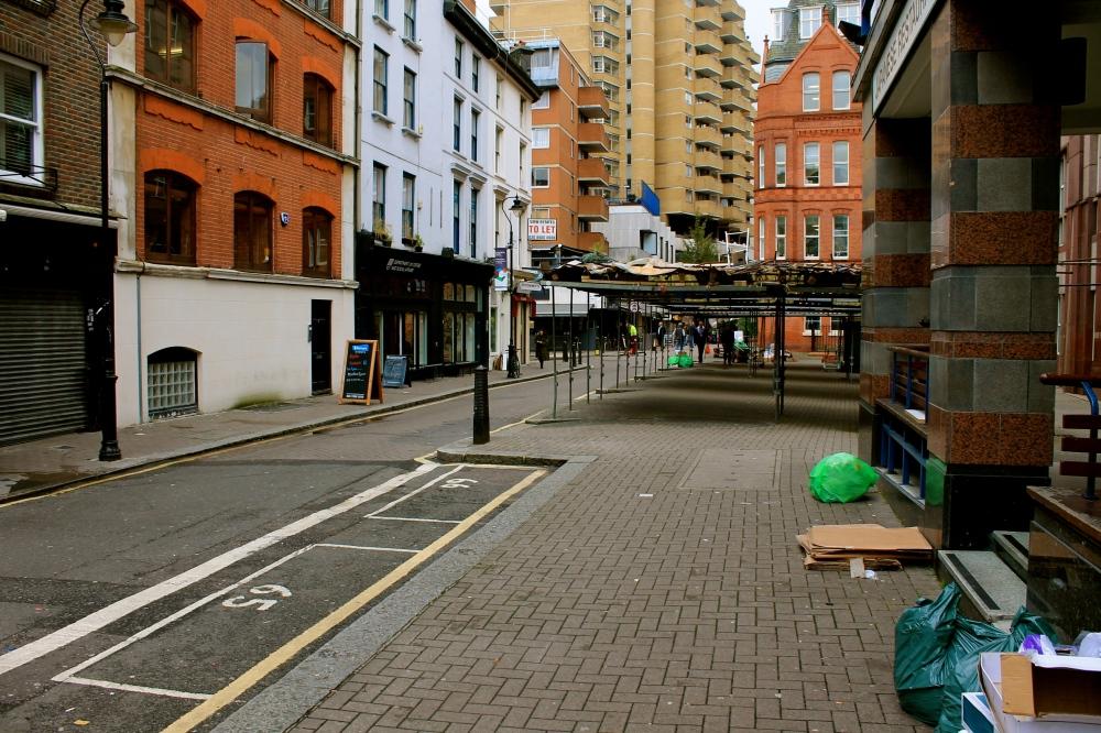 Dismantled market