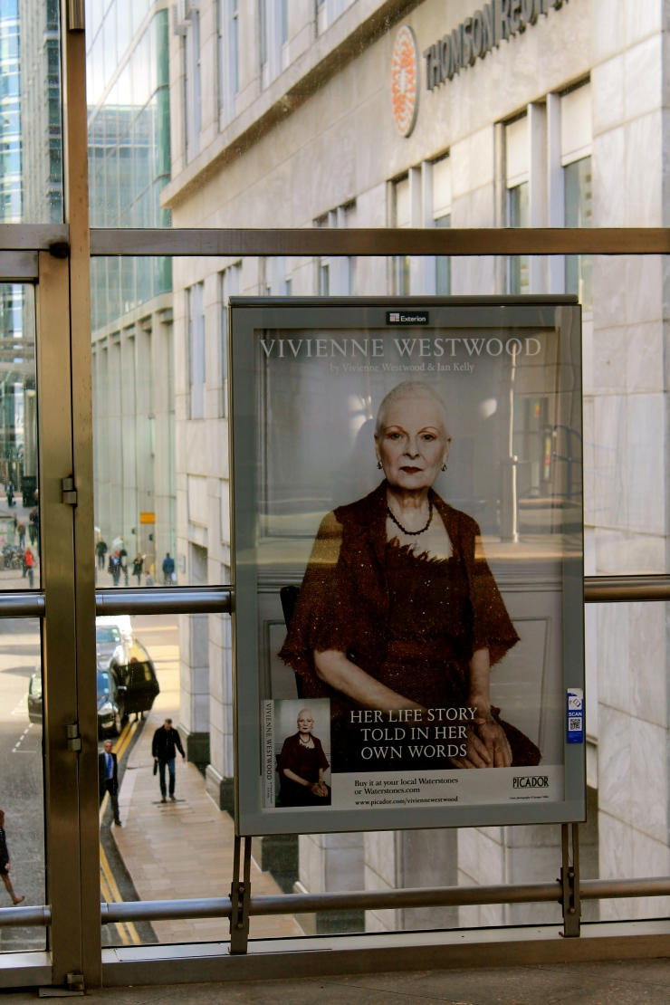Vivienne Westwood. I kind of want to be her when I'm old.