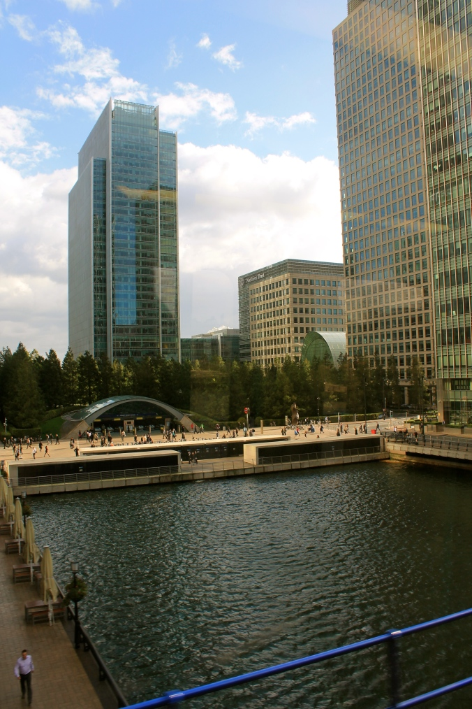 The revived Docklands