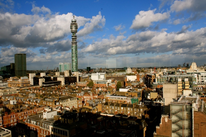 London's jumbled skyline