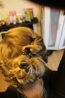Everyday mega-clip hairdo
