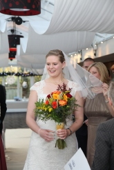 Veil at the ceremony!