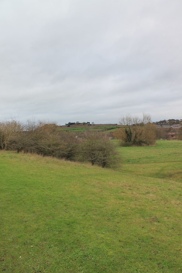 Old Sarum, the hill fort from ancient times and original city.