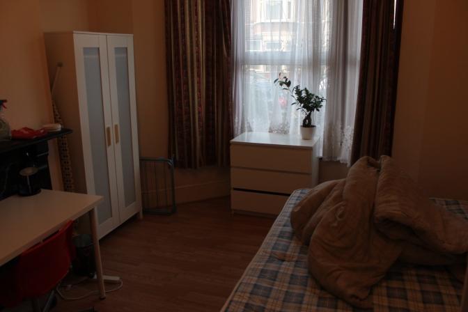 Stranger's room