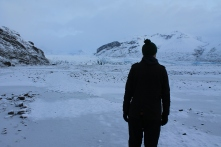 Up to the glacier