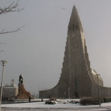 The cathedral, ten minutes later