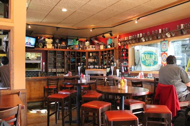 The interior of the Pub