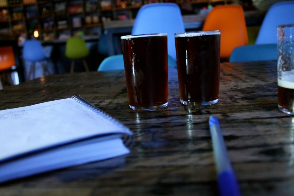 Notes and beers. The dream.
