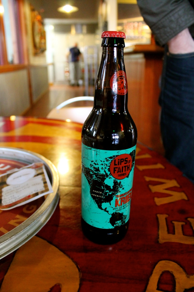 Transatlantique Kriek, from the Lips of Faith series (collab with Boon)