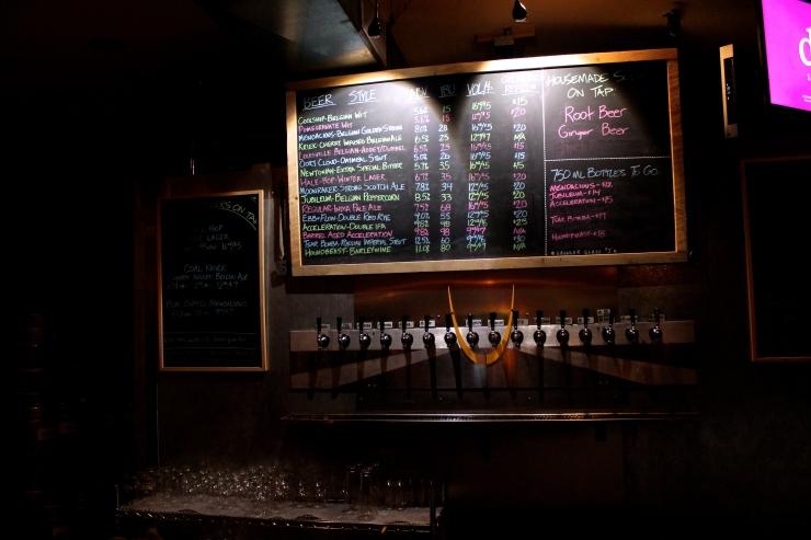 Beer list!