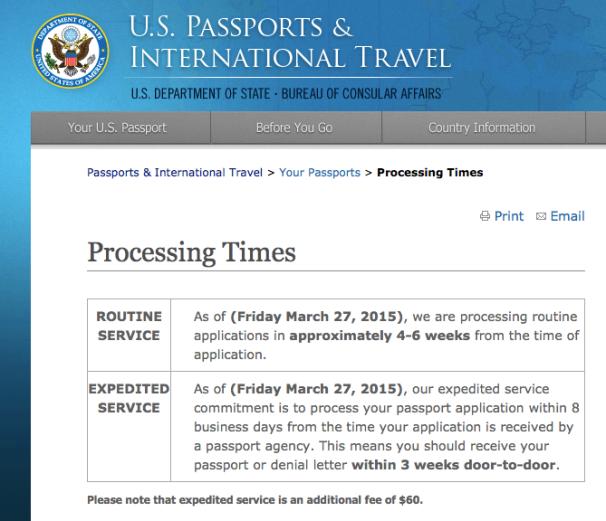Courtesy of Travel.gov