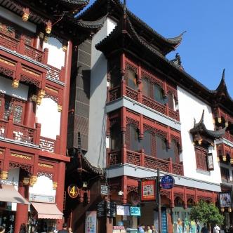 The Yuyuan Garden tourist district