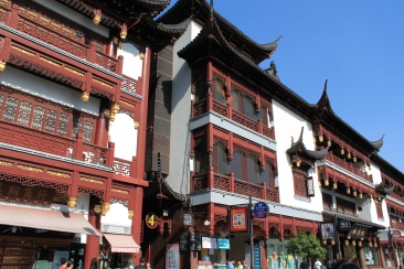 The Yuyuan Garden tourist district