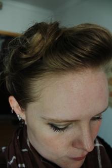 Hair closeup.