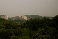 Large Cathedral on a hill.