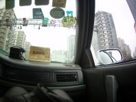 Taxi interior