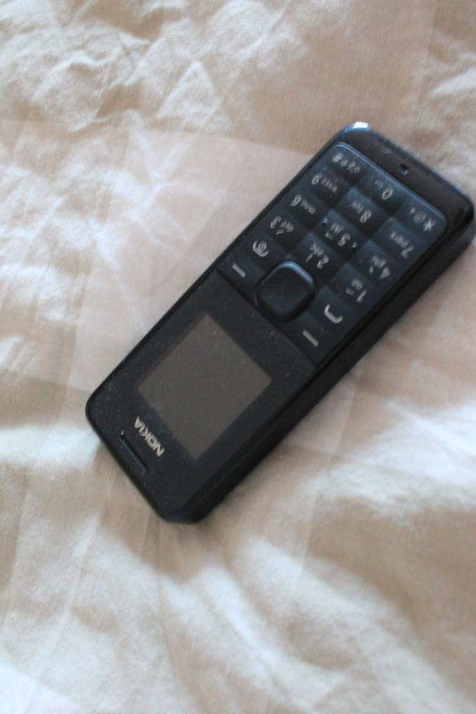 My trusty Nokia Brick.