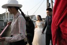 Bride on the move