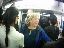 Mama on the Subway