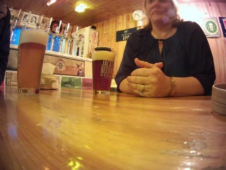 Jackie's Beer Nest Visit