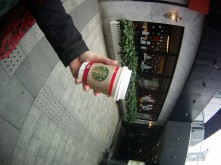 No one cares very much at all about the Starbucks cups in Shanghai