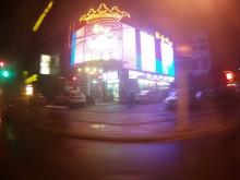 Nightclub on my bus ride home.